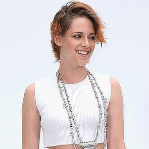 Kristen Stewart Short Hair at Chanel Paris Fashion Week