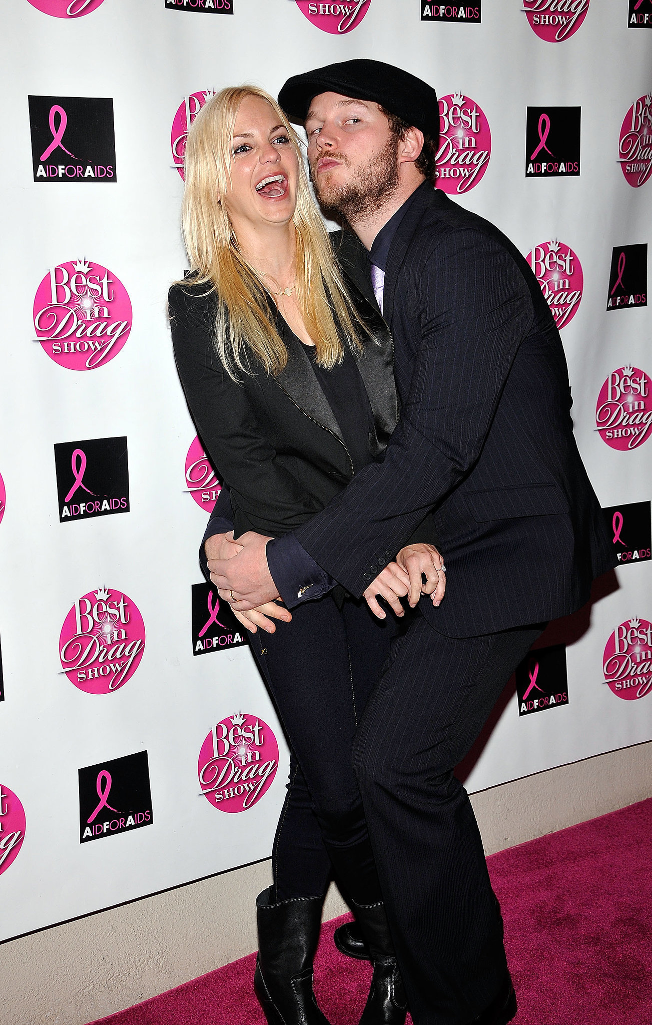 The couple posed for the cameras at the eighth annual Best in Drag Show event in LA in October 2010.