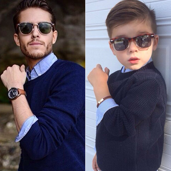 This Model in the Making Has More Swagger Than Most Adults