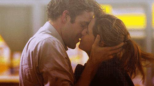 He Understands the Importance of Kissing in the Rain
