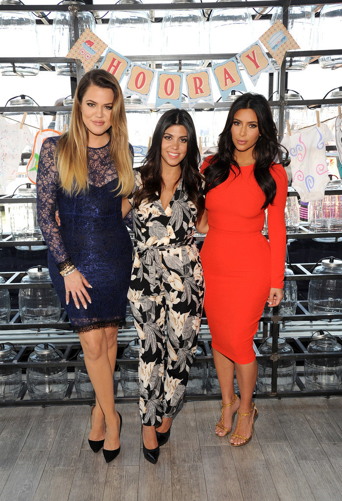Khloé, Kourtney, and Kim Kardashian