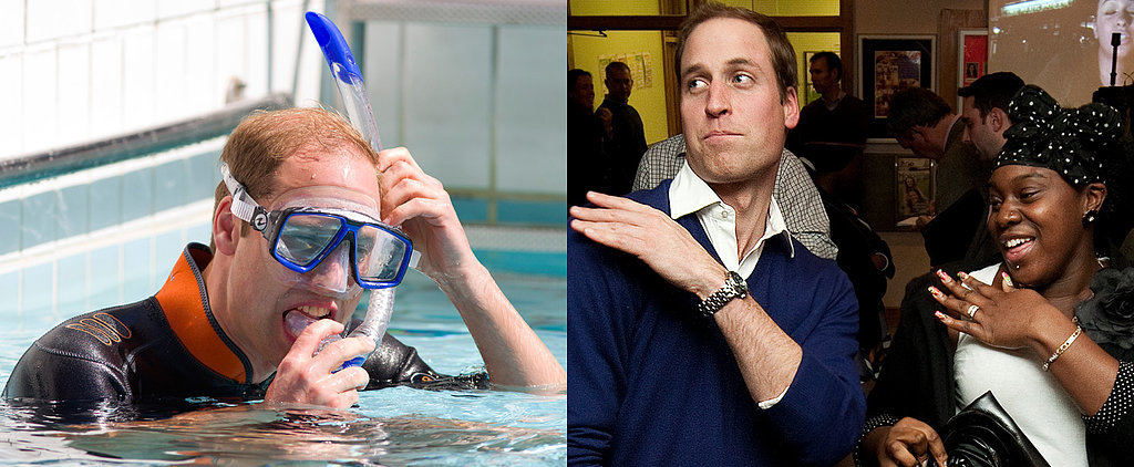 Prince William's Most Delightfully Dorky Moments