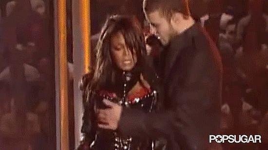 "Your jaw dropped during Janet Jackson's ""wardrobe malfunction."""