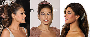 Birthday Girl Eva Mendes Never Met a Headband She Didn't Love