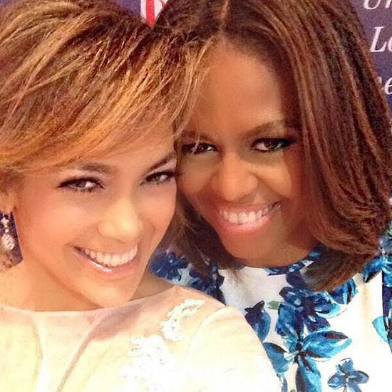 Jennifer Lopez And Michelle Obama Selfie At LULAC Event