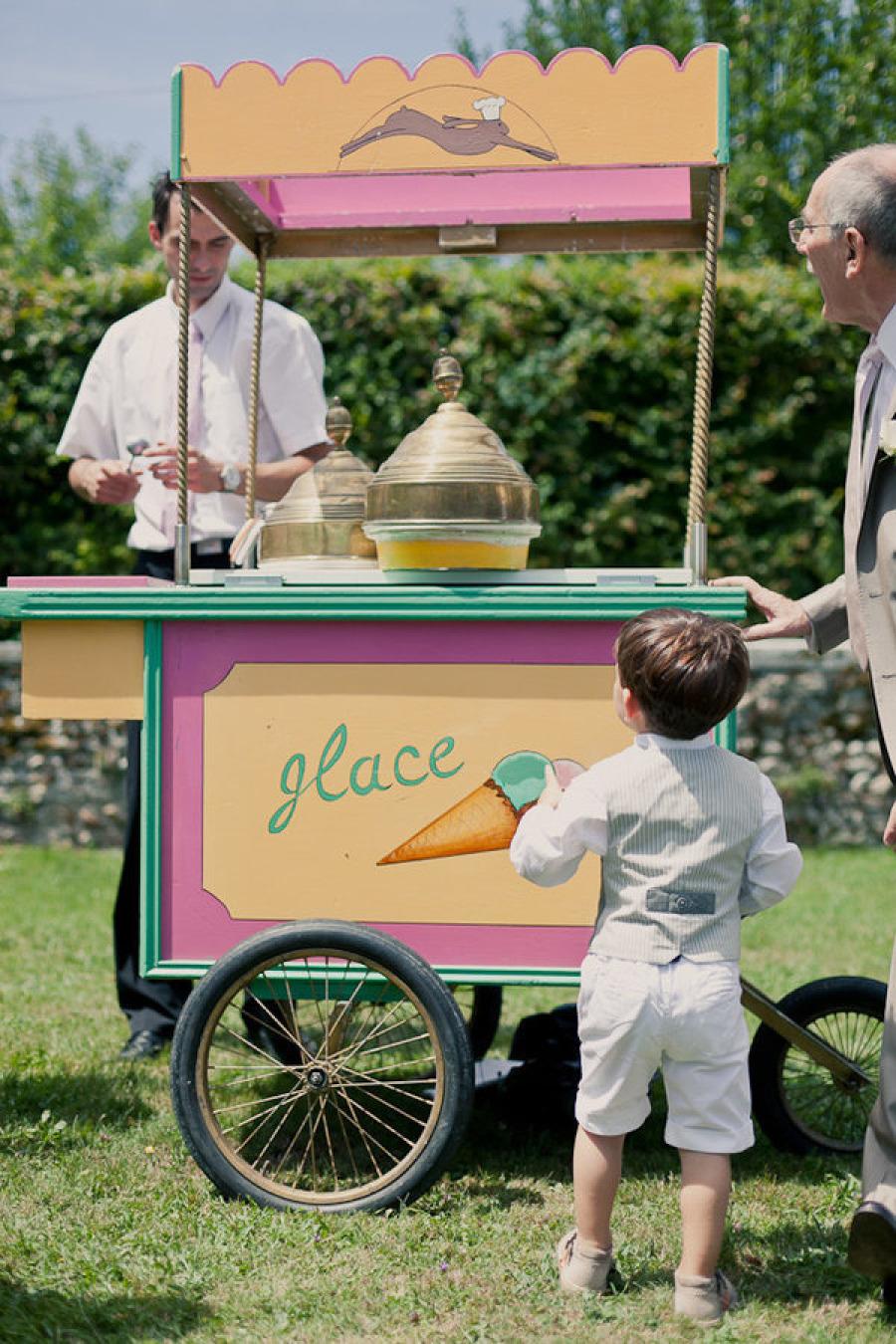 French Ice Cream Cart