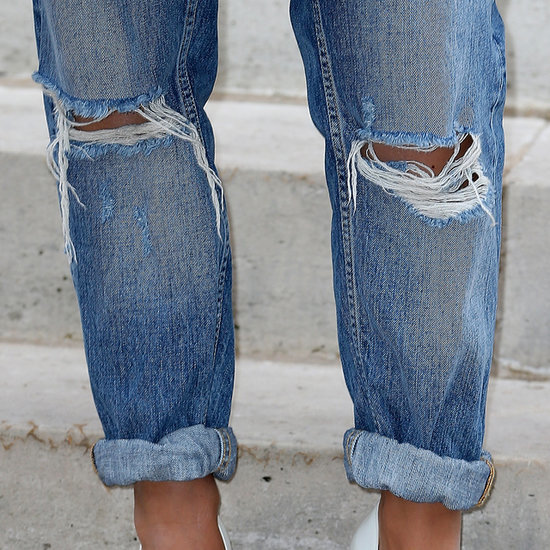 How to Distress Your Denim at Home   Video