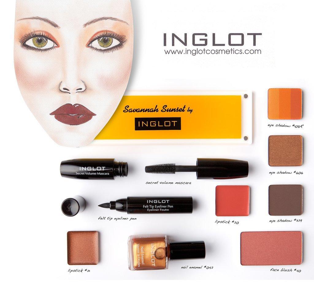 Inglot Savannah Sunset Collection