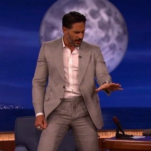 Joe Manganiello Teaching Conan O'Brien Stripper Moves