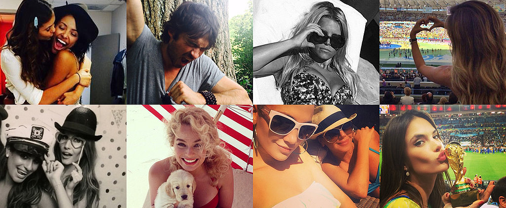 Celebrations and Swimsuits Highlight This Week's Cutest Celebrity Candids