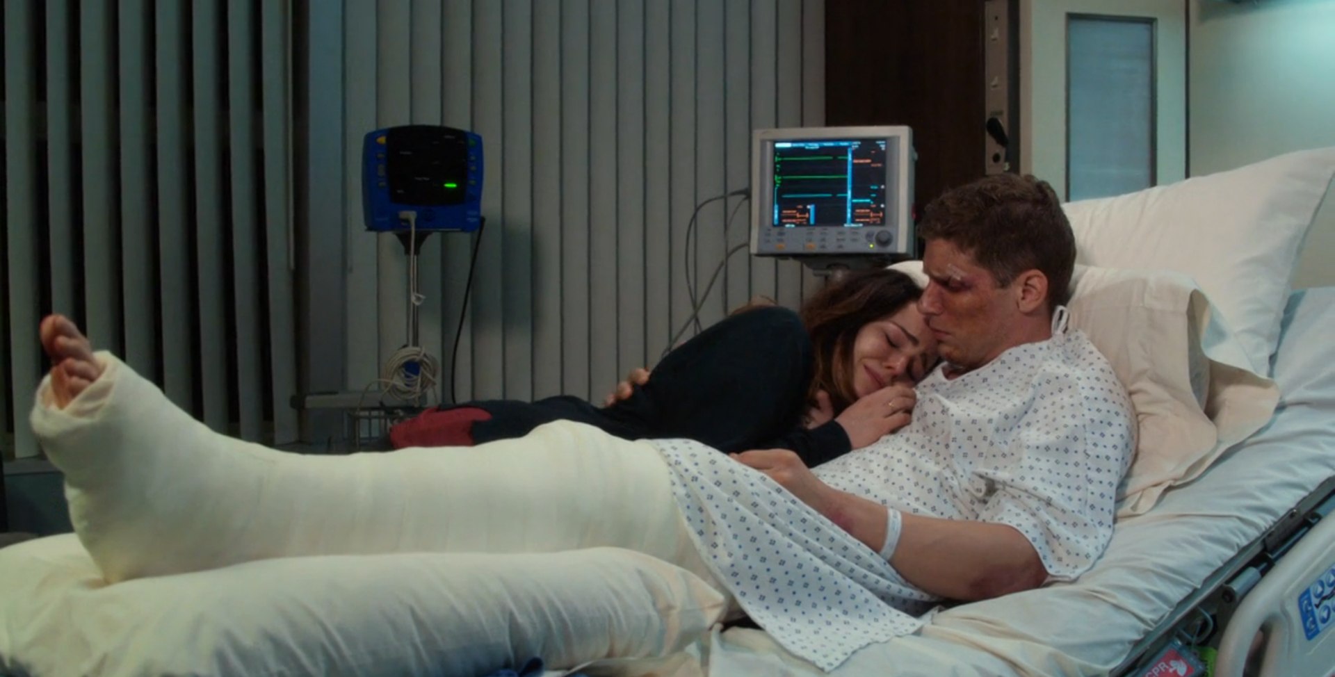 Best Sex While Crying in a Hospital Bed: Mae Whitman and Matt Lauria, Parenthood