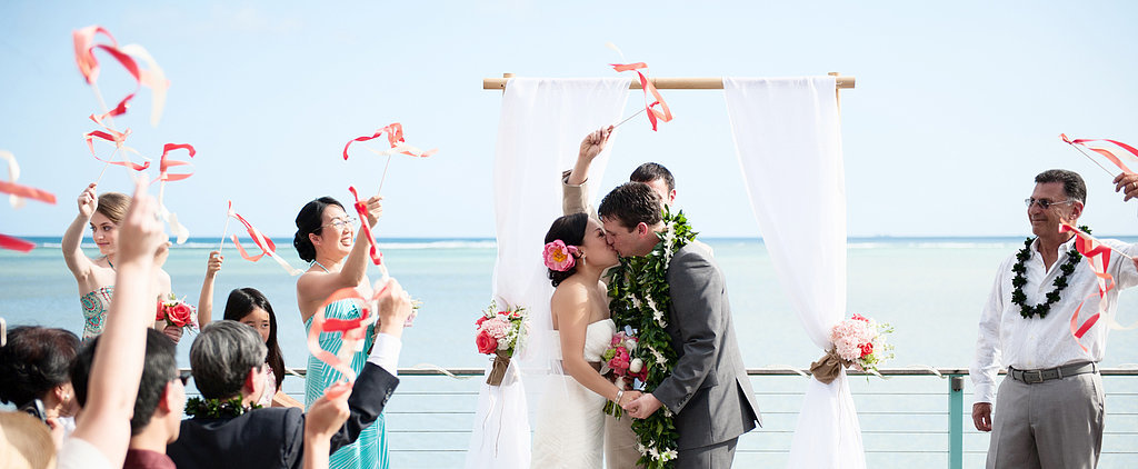 Phyllis and Tony's Modern Hawaiian Wedding