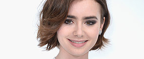 Lily Collins Jumps on the Bob Bandwagon!