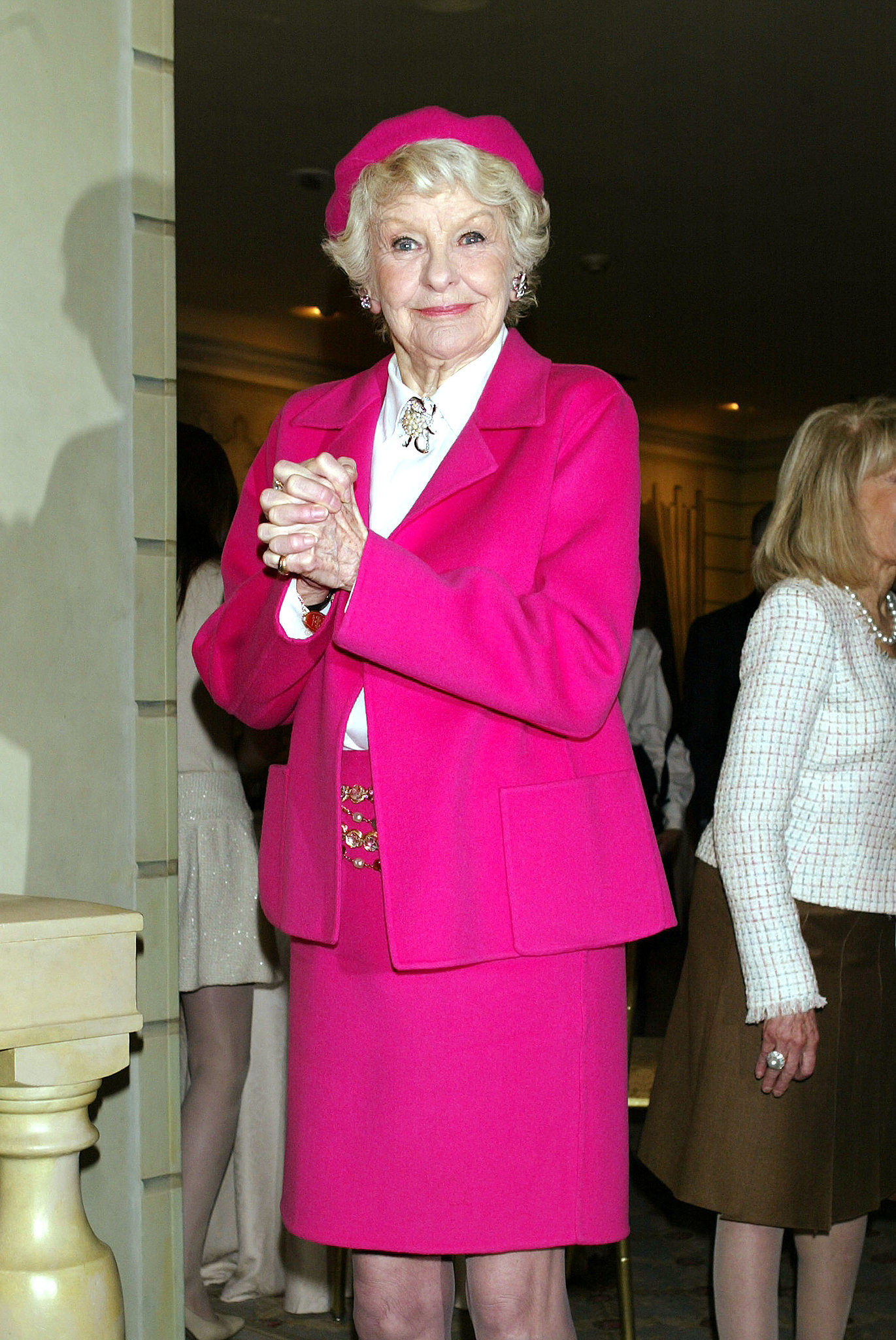 Elaine Stritch at an American Theatre Wing Luncheon