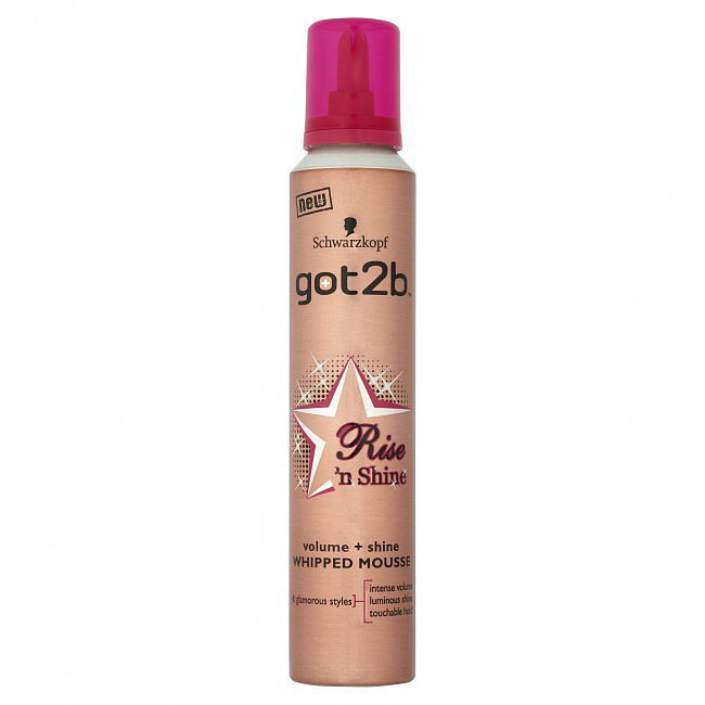 Got2B Rise and Shine Radiance Bounce Whipped Mousse