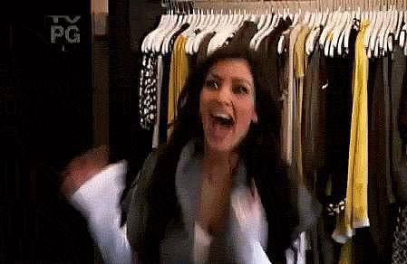 Kim Kardashian even bought me a birthday dress!