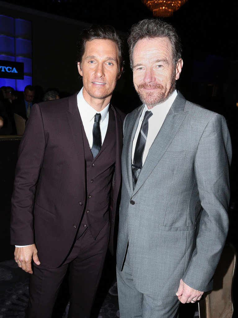 Matthew McConaughey and Bryan Cranston linked up.