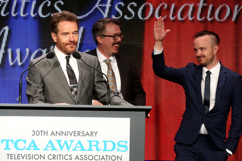 Bryan Cranston and Aaron Paul had their moment in the spotlight.