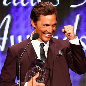 Matthew McConaughey at the TCA Awards 2014   Pictures