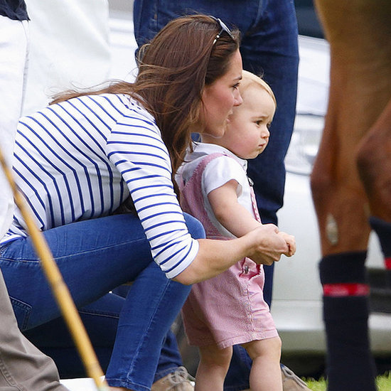 Kate Middleton And Prince George's Cutest Moments Together