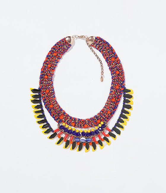 Zara Braided Necklace