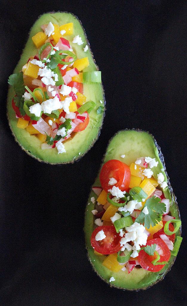 Salad-Stuffed Avocado
