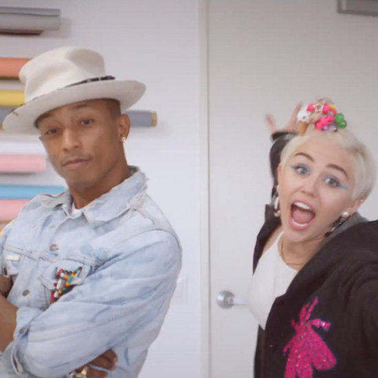 "Pharrell Williams ""Come Get It Bae"" Music Video"