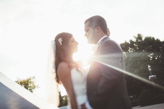 An Elegant, All-White Conservatory Wedding