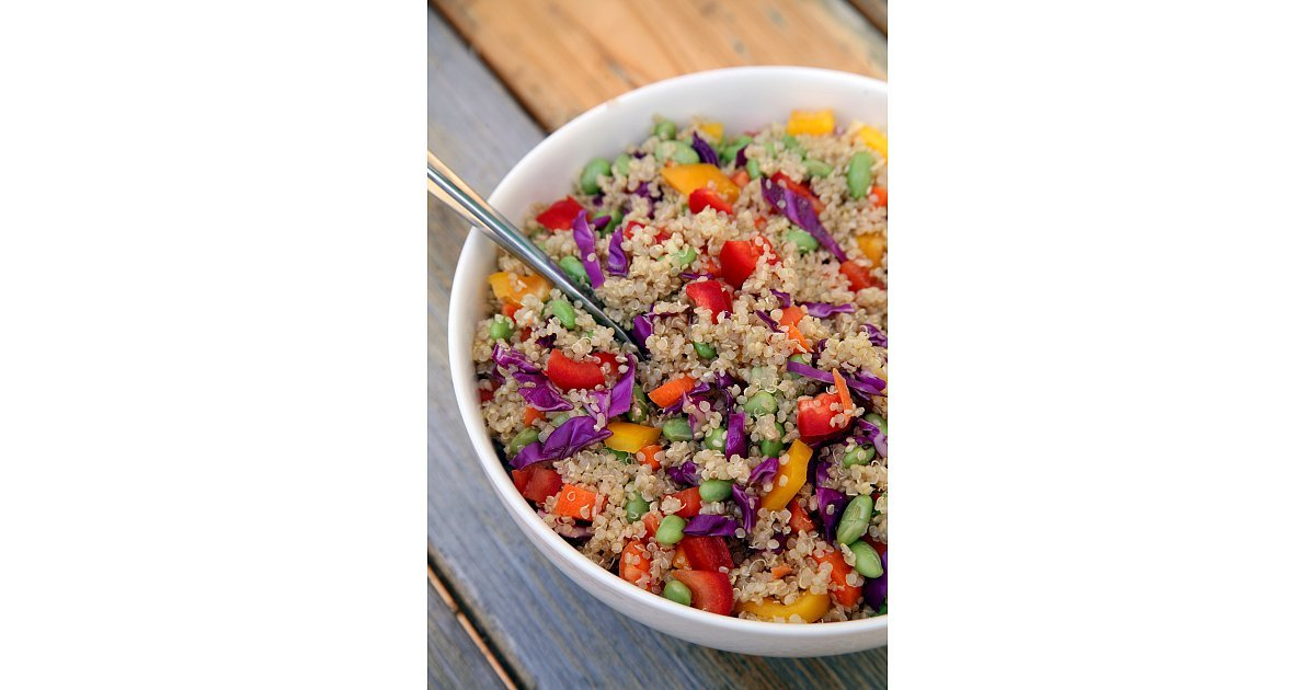 Sesame Ginger Quinoa Salad | 26 Quinoa Salads That'll Save You From a ...
