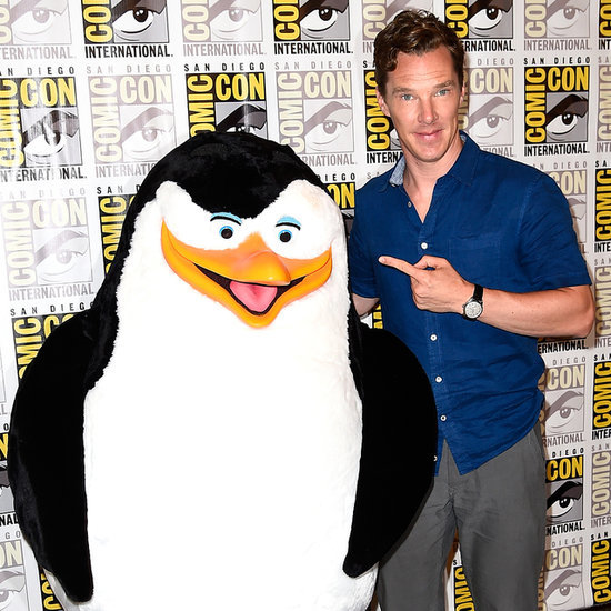 Benedict Cumberbatch at Comic-Con 2014