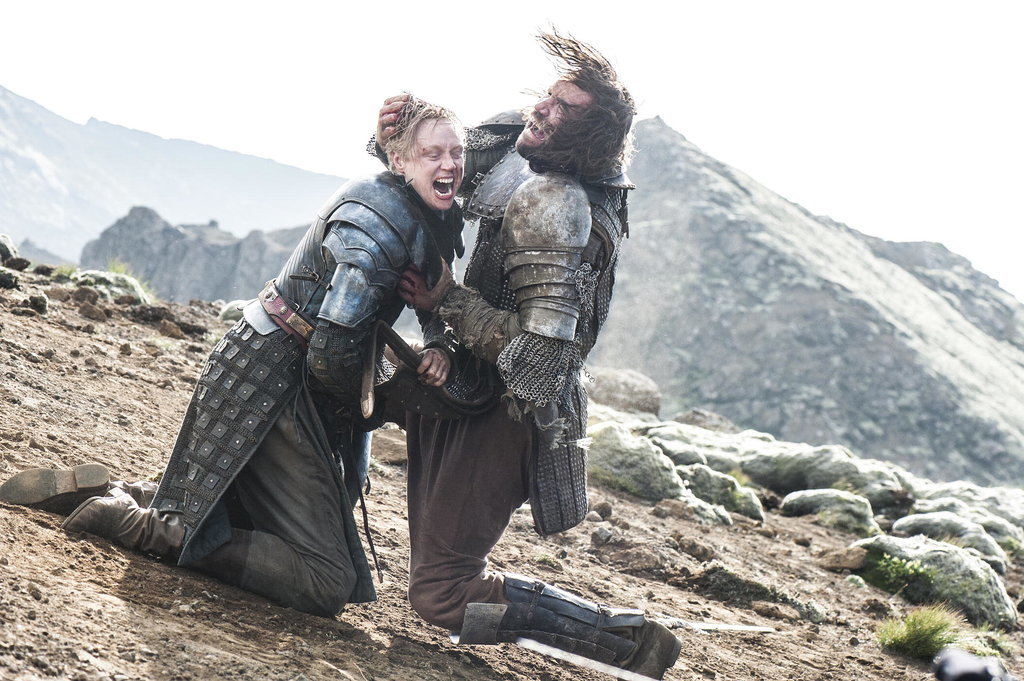 Brienne and The Hound&