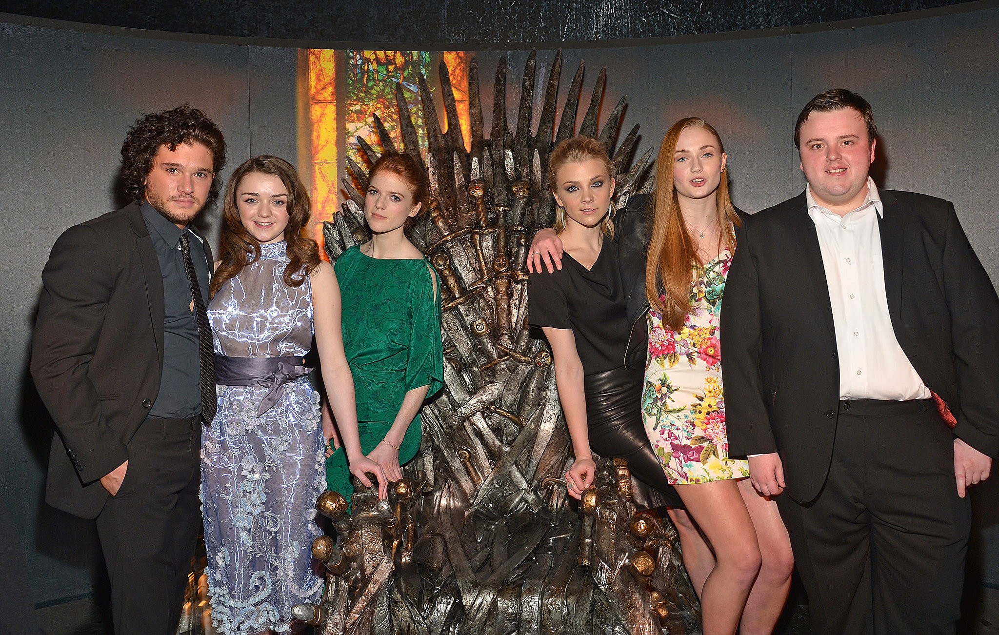 The Very Next Day, Maisie Williams Was Still in the Way