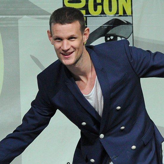 Matt Smith at Comic-Con 2014