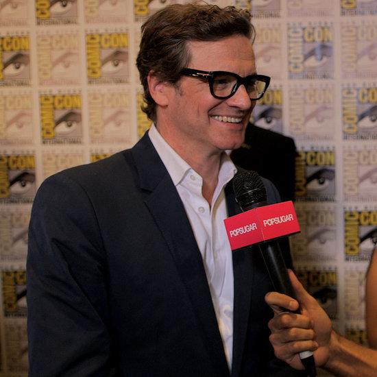 Colin Firth Kingsman: The Secret Service Interview   Video