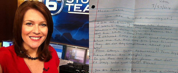 Meteorologist Handles a Sexist Letter in the Most Poised Way Possible
