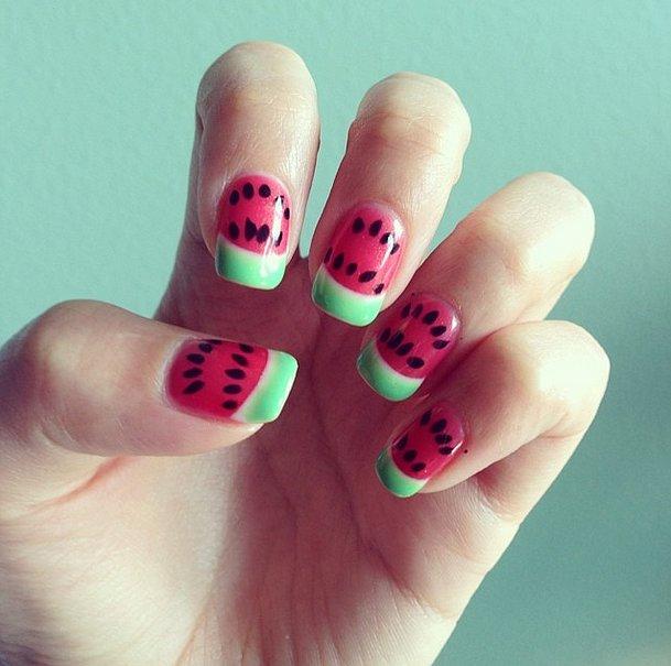 Best Summer 2014 Nail Art of Instagram