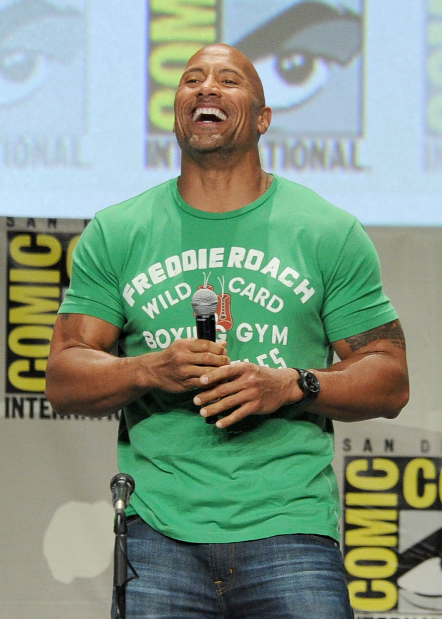 Don't Think We Forgot About The Rock