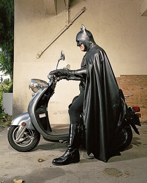 """Batman on Scooter,"" Gregg Segal"