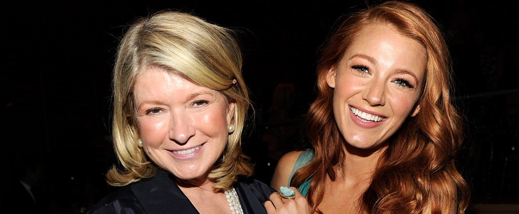 "Martha Stewart on Blake Lively's New Lifestyle Site: ""Let Her Try"""