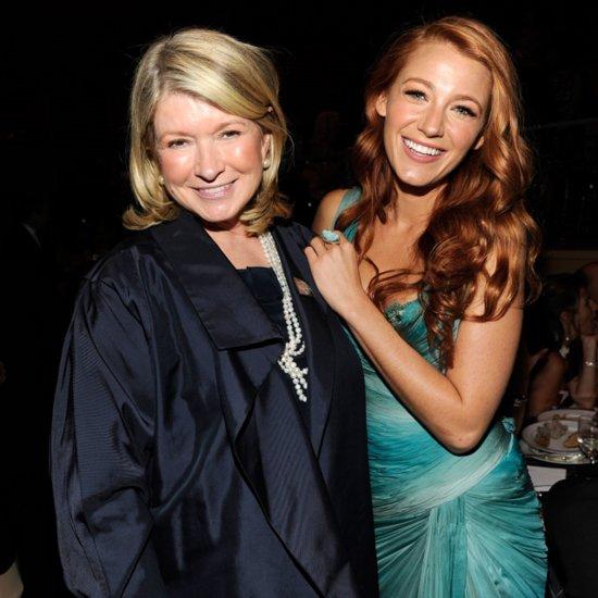 Martha Stewart Talks About Blake Lively's Blog