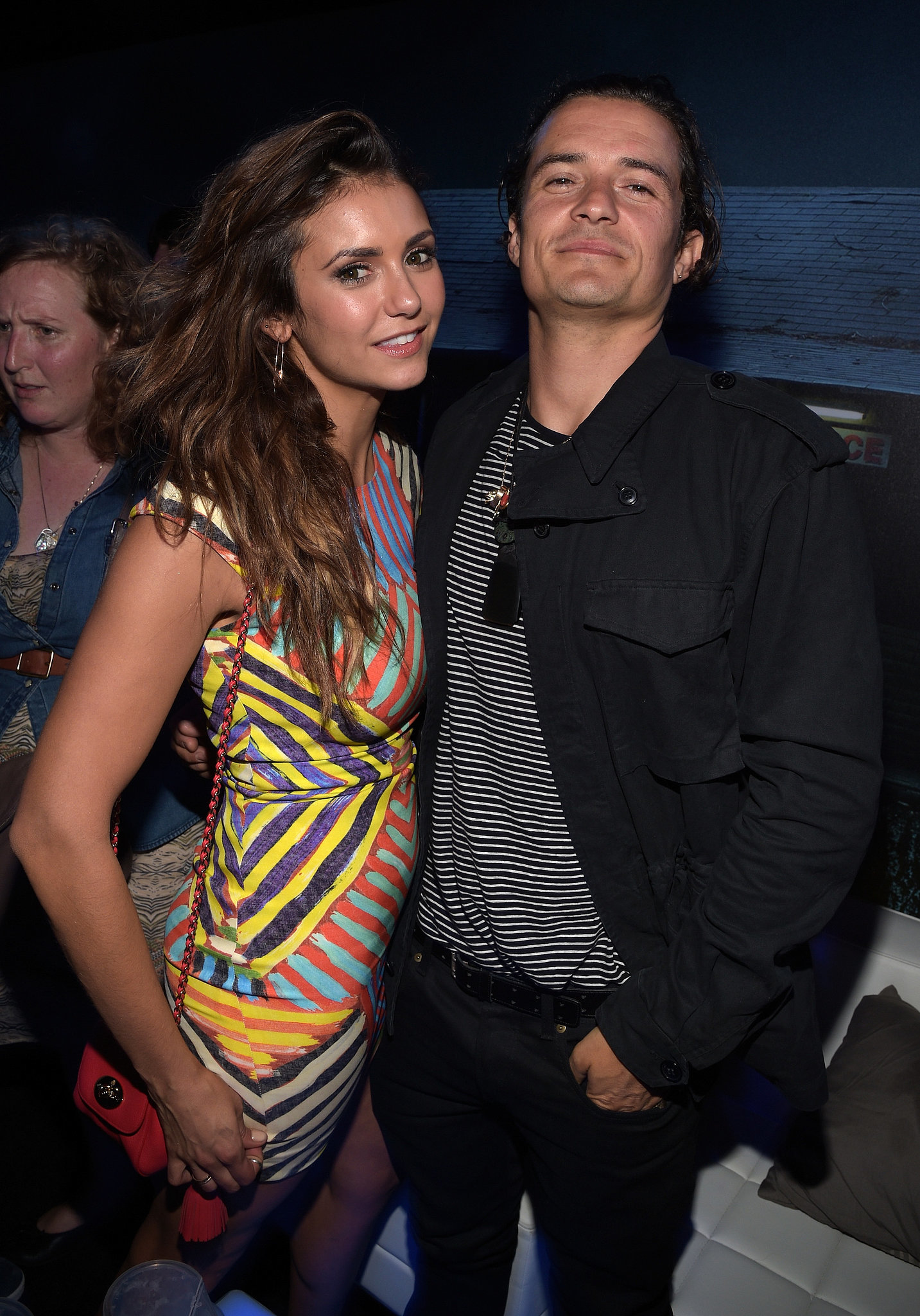 Nina reportedly made out with Orlando Bloom for 20 minutes at Comic-Con.