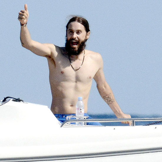 Jared Leto Shirtless in Capri, Italy | Pictures