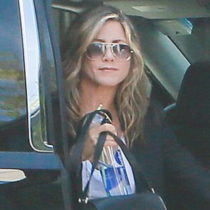 Jennifer Aniston Goes to the Hair Salon 2014 | Pictures