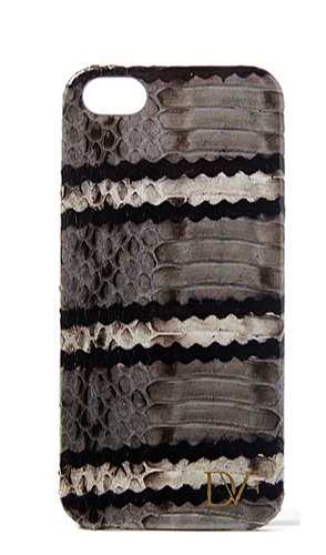 DVF Striped Snake Leather iPhone 5 Case