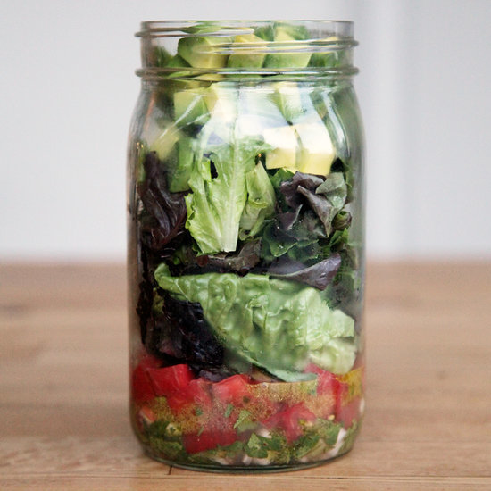 Guacamole Mason Jar Salad Recipe
