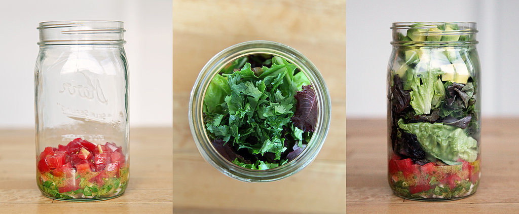 Satisfy Chips and Guac Cravings With This Mason Jar Salad