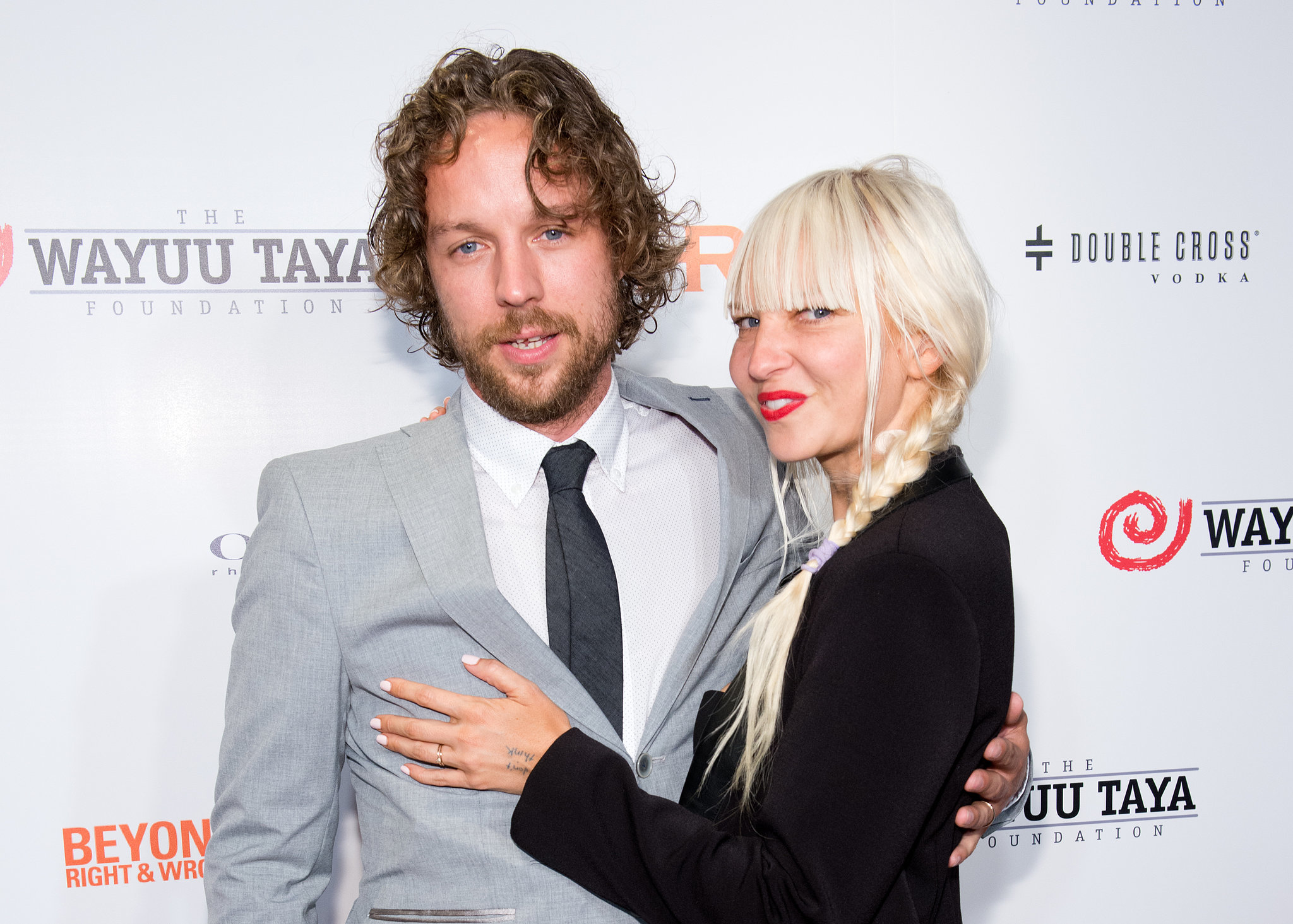 Sia wore her engagement ring to the 2014 Wayuu Taya Gala in NYC in June. She lit up on the red carpet next to her handsome fiancé.
