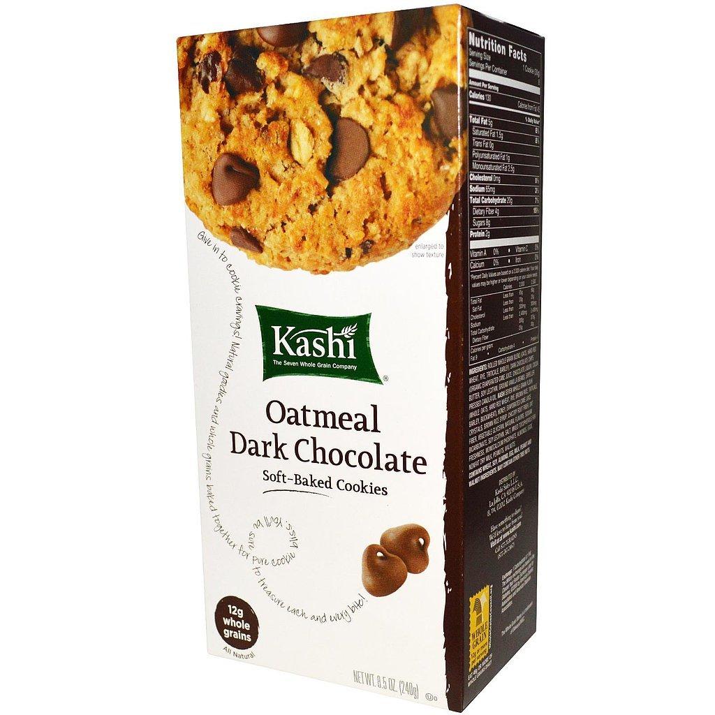 Kashi Oatmeal Dark Chocolate Cookies