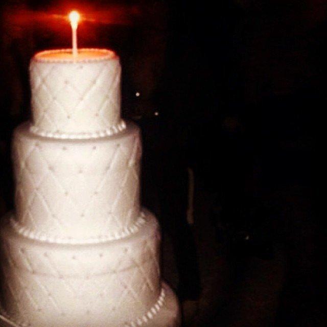 Riccardo Tisci's Birthday Cake