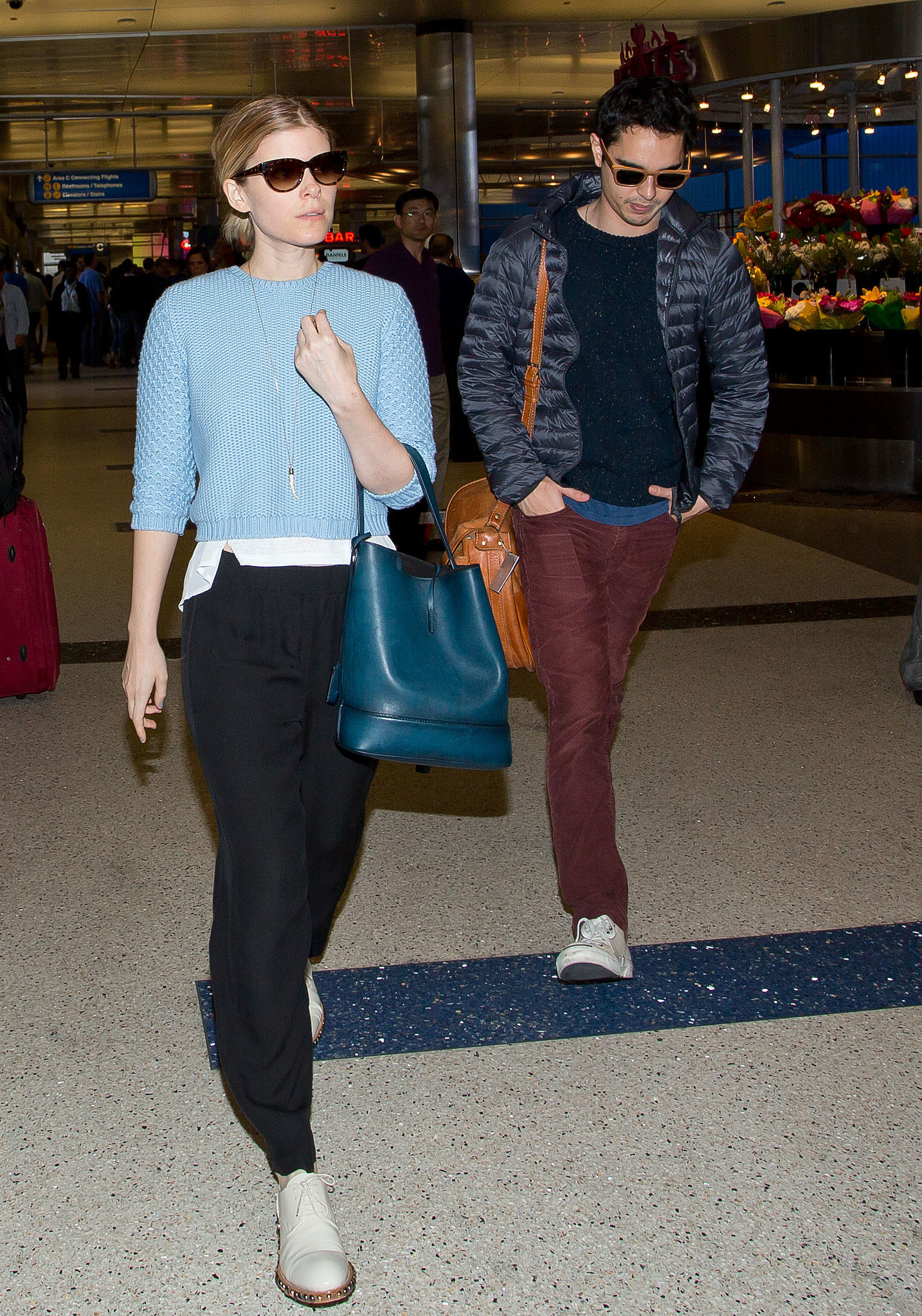 Kate Mara Carrying Louis Vuitton